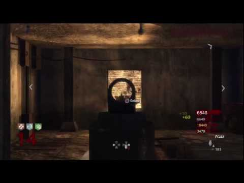 Call of Duty: World at War Nazi Zombies Der Riese 1 Hour Challenge Series Part 3