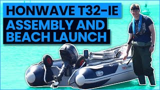 Honwave T32-IE Assembly and Beach Launch