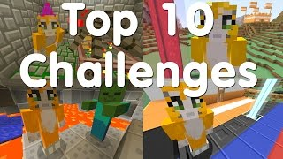 Top 10 - Minecraft Challenges