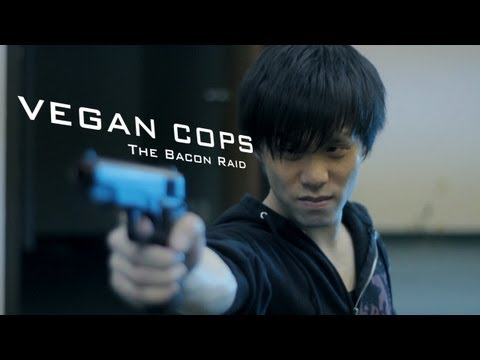 Vegan Cops - The Bacon Raid