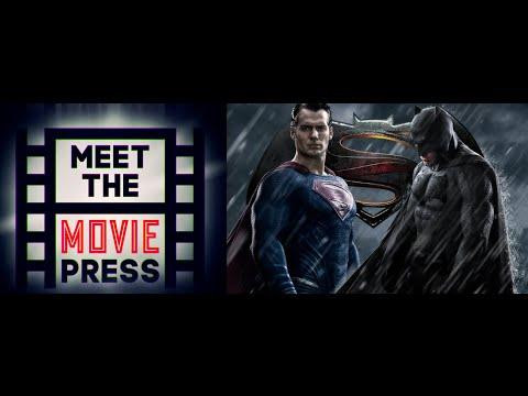 Meet the Movie Press #8: Hot Scoop: Batman V Superman!