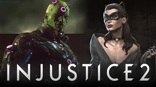 Injustice 2: All Roster Characters LEAKED?! (Injustice: Gods Among Us 2)