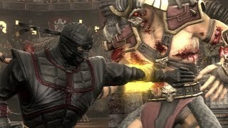 Mortal Kombat - Beating Shao Kahn FLAWLESS - Ermac (EXPERT)