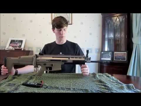 This is a UK First, with a review of the new WE EU Tech SCAR L AEG (MCR-L AEG) in Flat Desert Earth. If you have any questions, please comment below, like and subscribe. Band of Brothers Airsoft:...