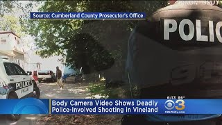 Bodycam Footage Released In Vineland Police-Involved Shooting