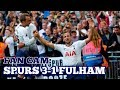FAN CAM: Spurs 3-1 Fulham: Kane Scores in August, Goals From Trippier and Moura, Spurs Top! 18/08/18