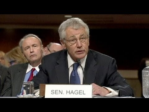 Chuck Hagel confirmed as new US defence secretary