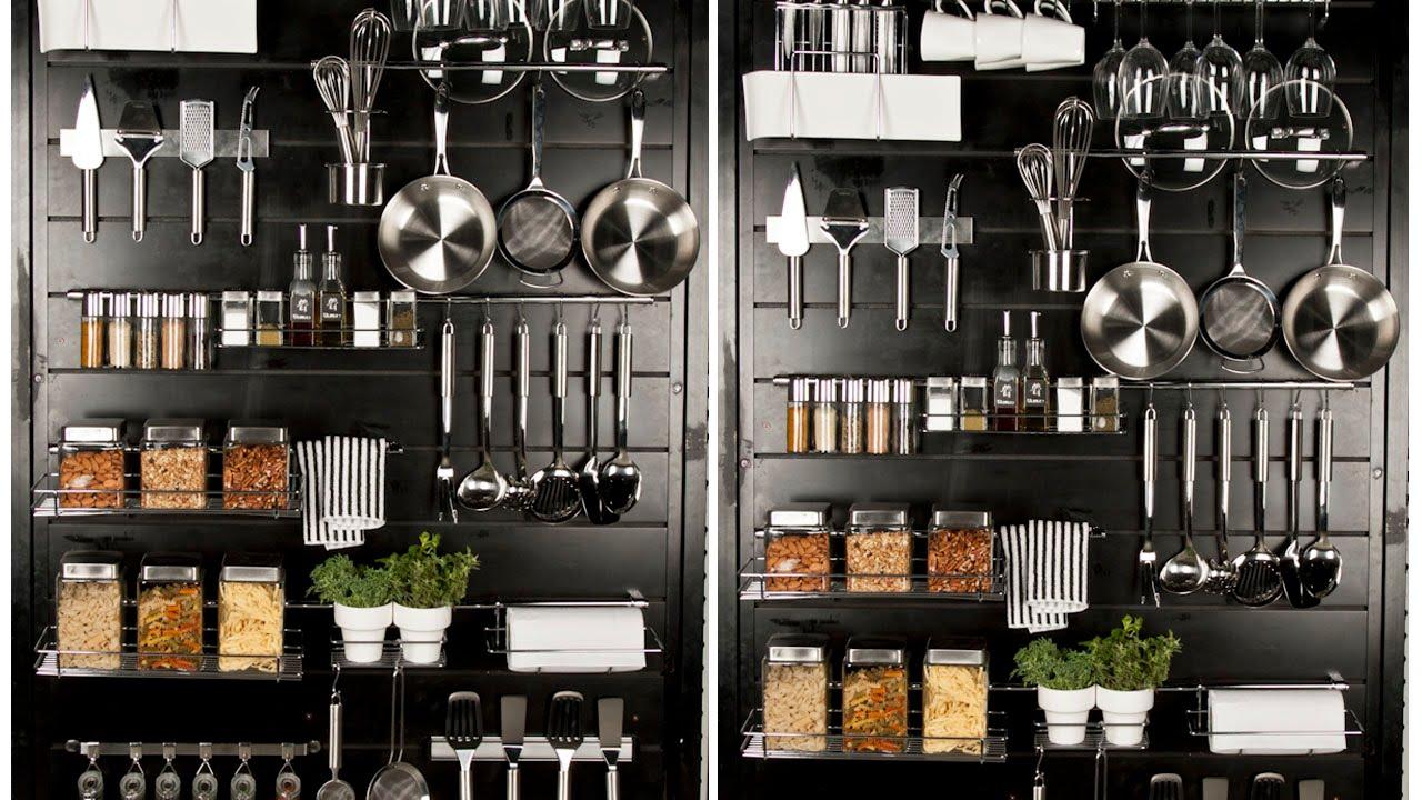 Tip herramientas de cocina visibles y decorativas youtube for Herramientas de cocina
