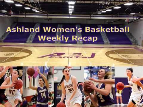 Ashland Women's Basketball Week 8 Recap - Audio Highlights
