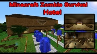 Minecraft Zombie Survival 1 - Hotel