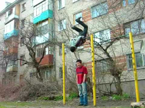 Bogdan Korzhenevskiy Start training(2006-2007)Crazy Russian kids)