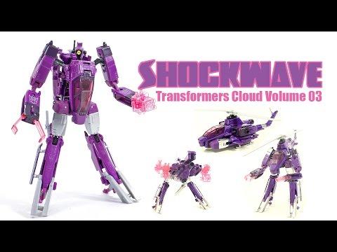 Transformers Cloud Shockwave Volume 3 Voyager Class figure by Takara Tomy