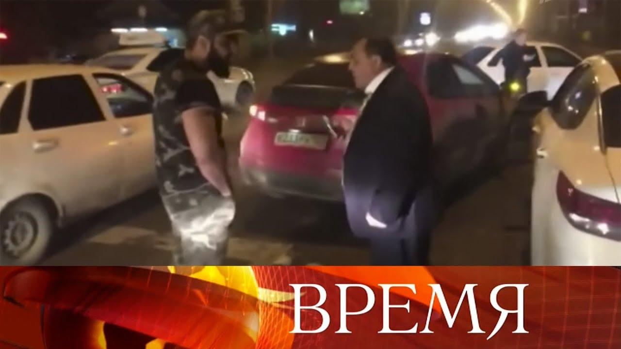 В Краснодаре военный судья сбил девушку на пешеходном переходе.