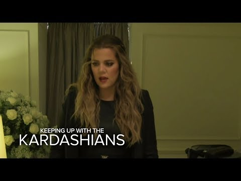 Khloe Powers Through the Jet Lag | Keeping Up With the Kardashians | E!