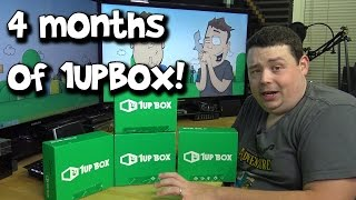 Unboxing May, June, July & August 1UPBOX's w/ Bat Knife