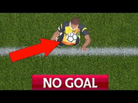 FUNNY WORST GOAL LINE TECHNOLOGY FAILS - FIFA 17