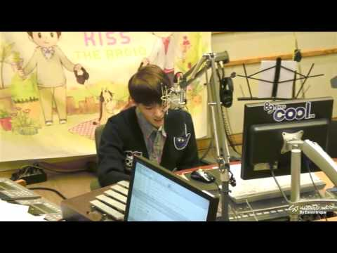 130313 Sukira - Ryeowook singing &quot;The Scientist&quot;