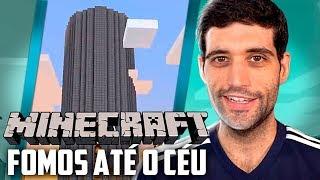 Minecraft 1.14 #33 - Chegamos Ao Topo da Torre dos Vingadores, Fomos Até o Céu