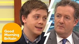 Owen Jones Defends Massive Protest Against Donald Trump   Good Morning Britain