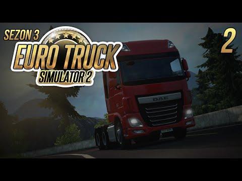 Luźna jazda w Euro Truck Simulator 2 #2 - SEZON 3 - Zwiedzamy nasz pikny kraj :D