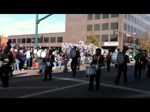 Sierra High School Marching Band @ 2011 Veterans Day Parade