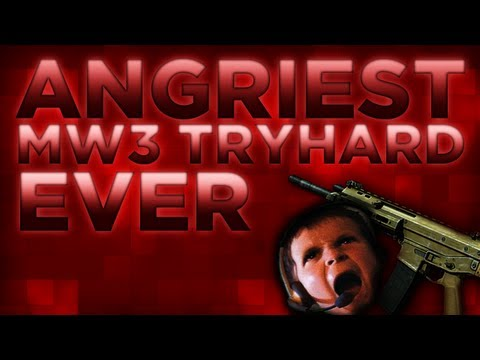 ANGRIEST TRY HARD IN MODERN WARFARE 3!