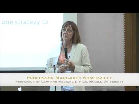 """Prof.  Margaret Somerville """"Courts, Codes, Control, Compassion, and Cruelty: Lessons from Canada"""""""