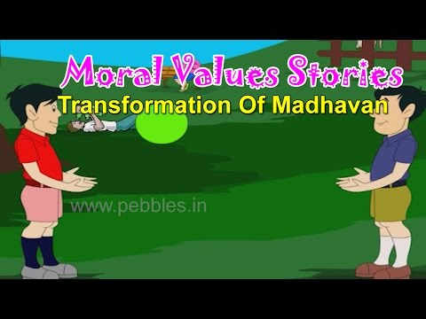 Transformation Of Madhavan | Moral Lessons For Children | Bengali Moral Values for Kids | Values