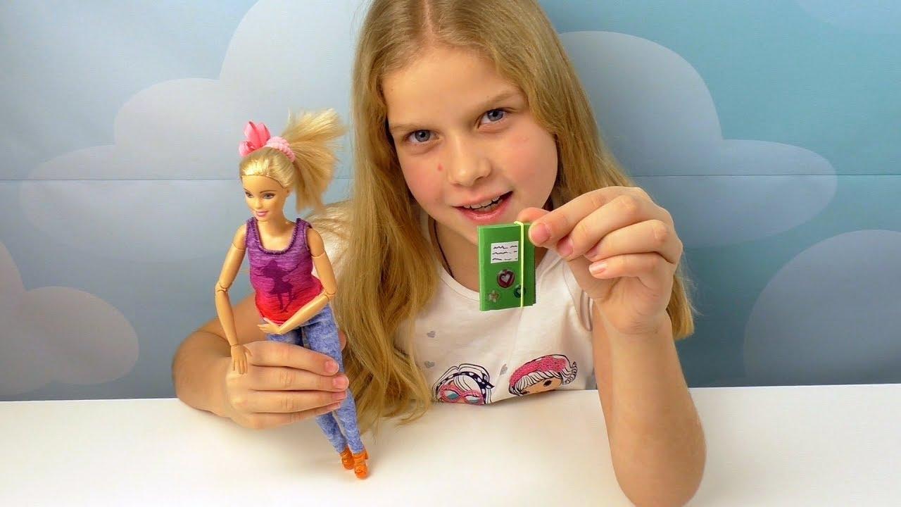 Как сделать тетрадку своими руками для куклы 88