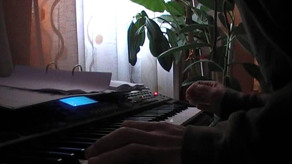 MOV0A2 orga yamaha stai cu mandrele muzica on lyne - YouTube