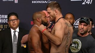 UFC 241: Weigh-in Faceoffs