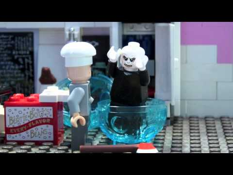 LEGO HARRY POTTER-COOKING WITH WORMTAIL-VOLDEMORT SOUP