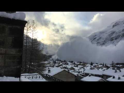 Avalanche à Bessans