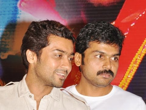 Surya & Karthi's movie updates