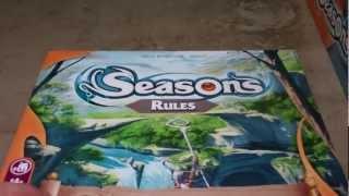 Seasons Boardgame Unboxing