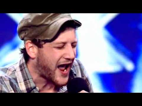Matt Cardle X Factor Audition First Live Audition.
