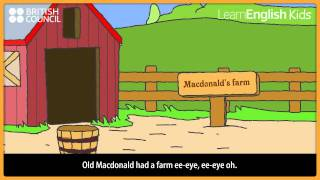 Old MacDonald - Nursery Rhymes & Kids Songs - LearnEnglish Kids British Council