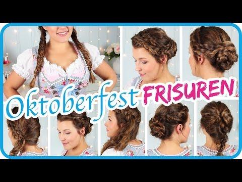 Die Schönste Oktoberfest Frisur Outfit