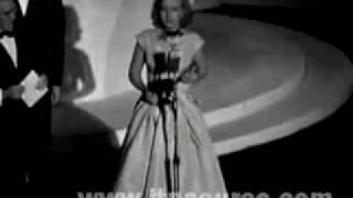Loretta Young, Ronald Colman, Celeste Holm, Edmund Gwenn winning their Oscar