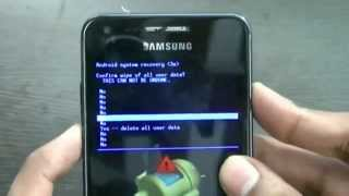 Hard reset Samsung I9070 Galaxy S Advance
