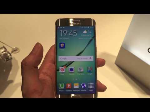 Samsung Galaxy S6 Edge - Impresiones y Demo MWC 2015