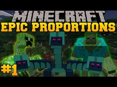 Minecraft: Epic Proportions - Pirate Ship! - Episode 1 (S2 Modded Survival)