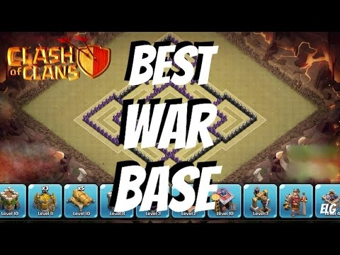 Clash of Clans - Best Trophy/War Base - Town Hall 7 - Best Defensive Base EVER! Plus Replays