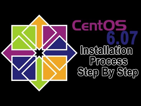 CentOS 6.07 Installation Process Step By Step Updated Operating System