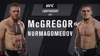Connor McGregor vs Khabib Nurmagomedov K.O.