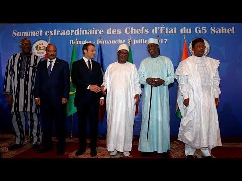 Force antijihadiste : Macron soutient les pays du Sahel mais réclame de l'efficacité