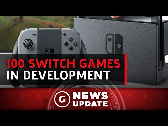 100 Nintendo Switch Games In Development - GS News Update