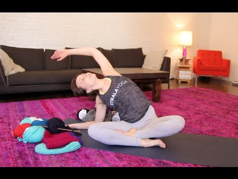 Yoga for Knitters by Vera
