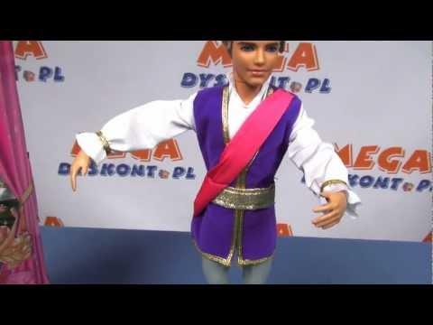 Prince Siegfried / Książę Zygfryd - Barbie in the Pink Shoes / Barbie i Magiczne Baletki - Mattel