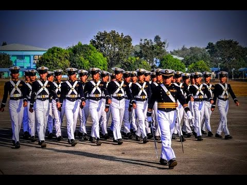 PMMA Philippine Merchant Marine Academy 196th Foundation Day Pass in Review